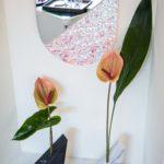 Diamand.Vase.NeroMarquina e Verde Prali